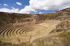 Droga do Machu Picchu, Muray, Salineras
