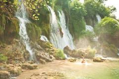 Wodospady Kravica i zamek Počitelj