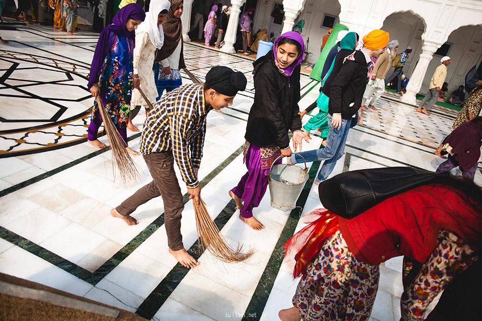 Amritsar, Złota Świątynia, Indie (13)